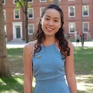 Harvard girl on webcam
