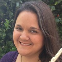 Accomplished flutist gives private and group lessons to all ages, online or in person in Newton, KS.