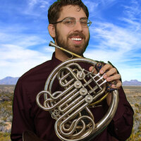 Brass session musician from such games as Mortal Kombat 11 and Legend of Tangledeep teaches brass lessons over the internet from Midland, Texas.