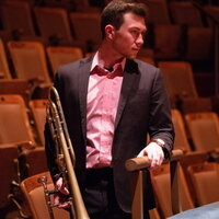Classically trained trombonist recently graduated from the New England Conservatory, currently studying in NYC under Colin Williams of the New York Philharmonic.