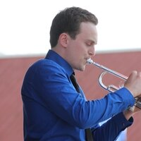 Freelance trumpet player and educator based in the midwest who's also traveled the world playing on cruise ships!