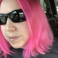 Lady with Pink Hair helps you make the Difficult topics seem Easy