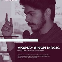 Learn Mentalism & Magic with India's Only Paranormal Illusionist and tech Mentalist !!