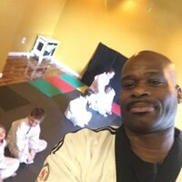 Master Peterson with 25 years of teaching children and adults Martial Arts.