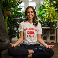 Mindful millennial leads guided meditations and offers health coaching from Vermilion, Ohio