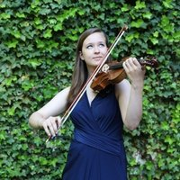 Online violin lessons offered by a conservatory-trained violinist with years of teaching experience
