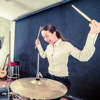 Professional drummer with over 10 years experience gives online drum lessons for all ages