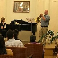Professional french Horn player and teacher with 6 years gigging and teaching experience.