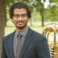 Professional Tubist with 10+ years of experience teaching, performing, audio production, music theory, and more. Studied at DePaul University (MM). Currently faculty at Merit School of Music.