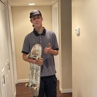 Skater for 7 years , very patient and willing to help you learn what you want to do on a skateboard :)