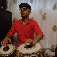 The student of music who learn as well teach Tabla from vasai , having 4 years of learning experience and 1 year of teaching experience