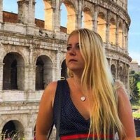 Ukrainian girl grew up in Italy since childhood, with Italian High School Diploma and Some college coursework a the University of Turin, Italy.